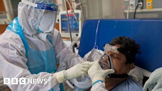 Covid: Delhi announces lockdown as India's cases surge #world #BBC_News