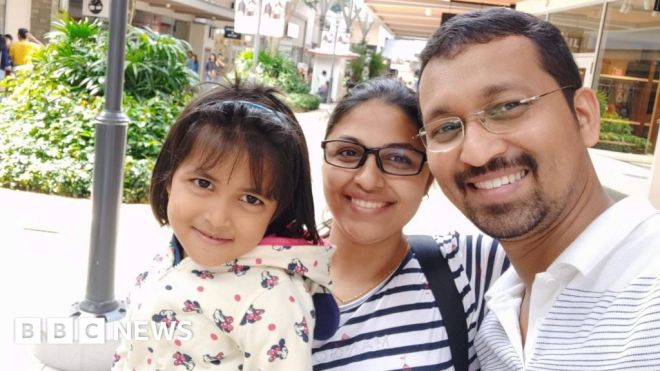 India's Covid pandemic: Girl, 5, separated from family by Australia restrictions #world #BBC_News