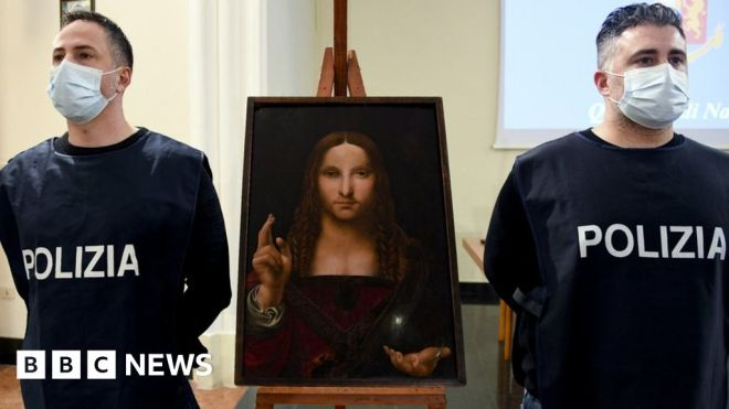 Stolen 500-year-old painting found in Naples cupboard #world #BBC_News