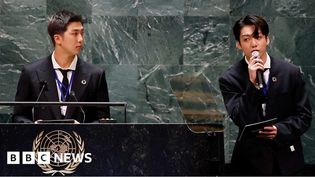 , K-pop stars BTS perform at UN General Assembly, The Evepost BBC News