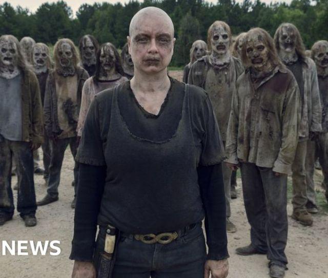 The Walking Dead Samantha Morton Takes On A Huge Legacy Bbc News