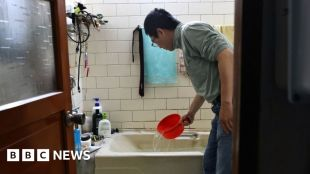 Drought-hit Taiwan rations water to protect tech #world #BBC_News