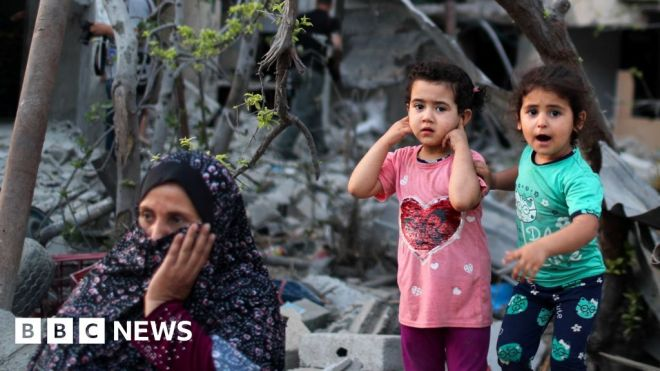 The dilemma of rebuilding Gaza without rearming Hamas #world #BBC_News