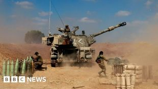 Israel intensifies attacks in Gaza as conflict enters fifth day #world #BBC_News