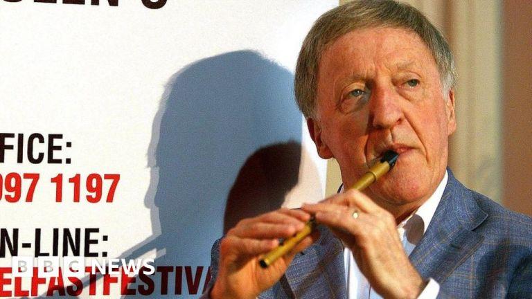 Watch Paddy Moloney: The person who put Irish music on the map – BBC English News