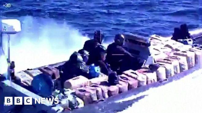 Spain drug bust: 'Speedboat smugglers' arrested #world #BBC_News