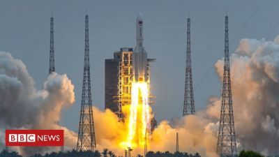 China rocket debris 'disintegrates over Indian Ocean' – Chinese media