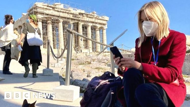 Covid Greece: Waiting for the tourists to come back #world #BBC_News
