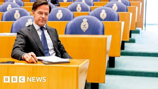 Dutch PM Rutte narrowly survives no-confidence vote #world #BBC_News