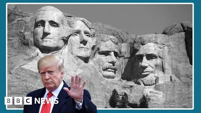 US historians on what Donald Trump's legacy will be #world #BBC_News
