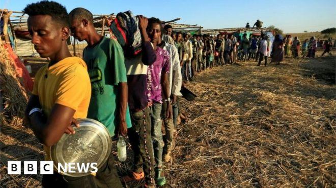 Ethiopia Tigray crisis: Fear of mass starvation #world #BBC_News