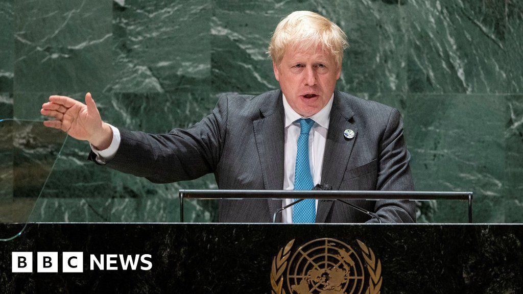 , Boris Johnson at the UN fact-checked, The Evepost BBC News