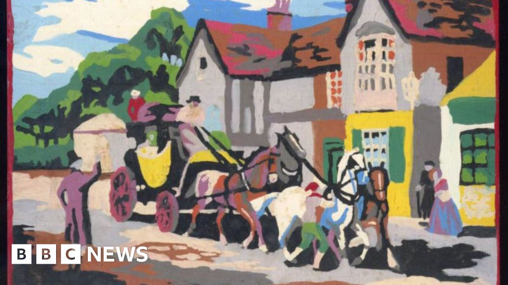 Painting By Numbers Literally Saved My Life Bbc News