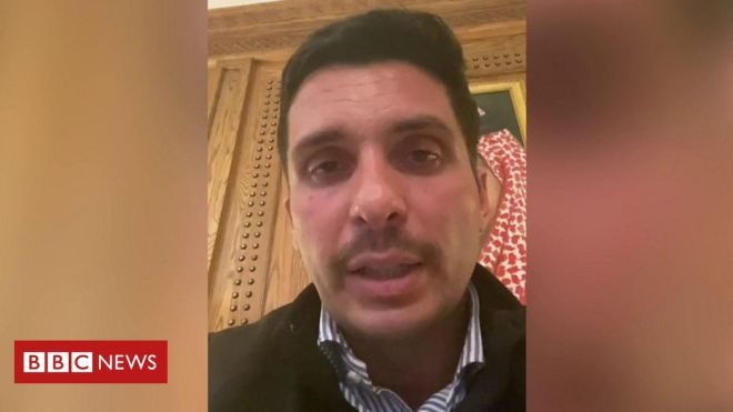Jordan's Prince Hamzah vows to defy 'house arrest' orders #world #BBC_News