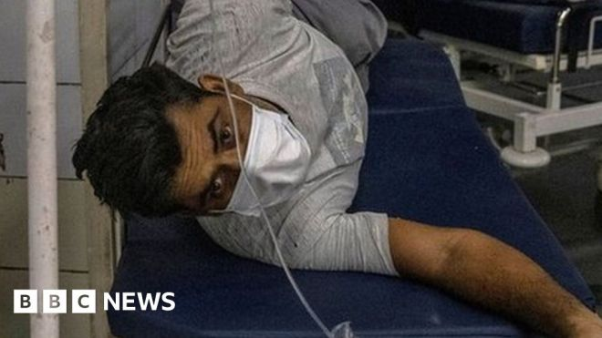 India's desperate Covid-19 patients turn to black market for drugs #world #BBC_News