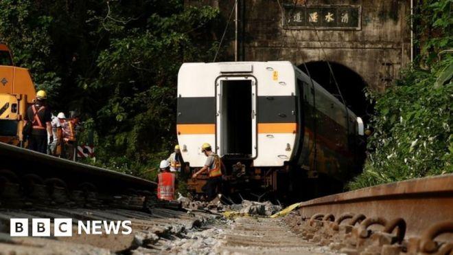 Taiwan: Prosecutors seek arrest after train crash which killed 50 #world #BBC_News