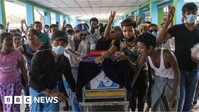 Myanmar coup victims: The 'fallen stars' from the deadliest day #world #BBC_News