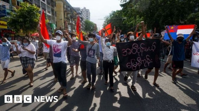 Myanmar: Journalists who fled coup face Thailand deportation #world #BBC_News