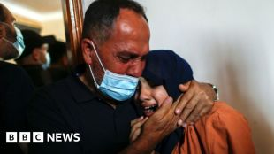 Israel-Gaza: Locals scramble for cover, some hiding in wardrobes #world #BBC_News
