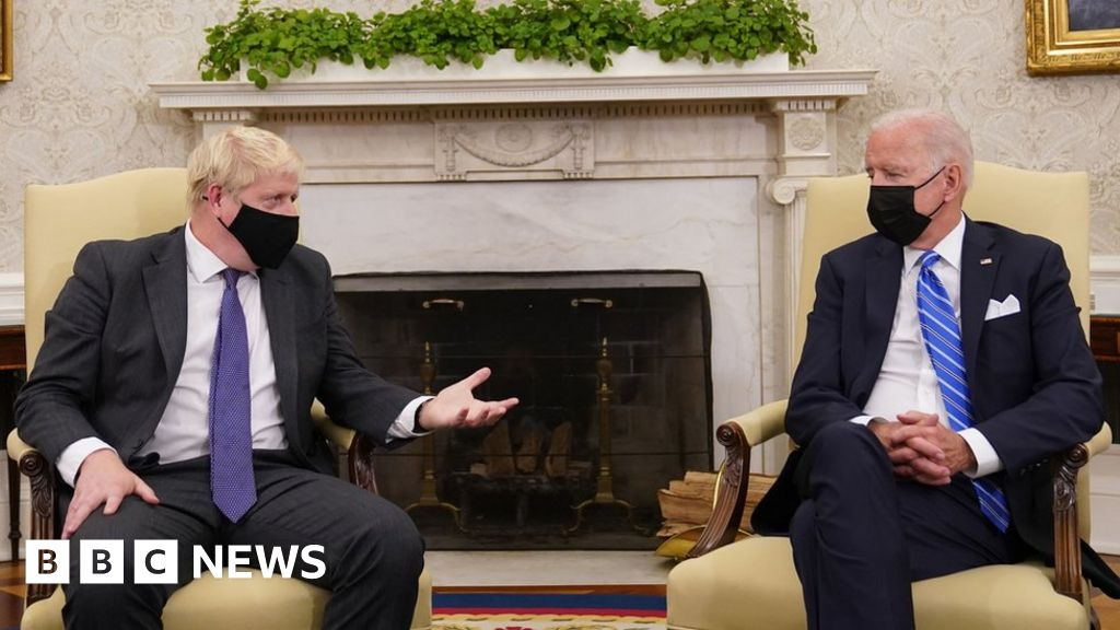 , Boris Johnson and Joe Biden meet at White House, The Evepost BBC News