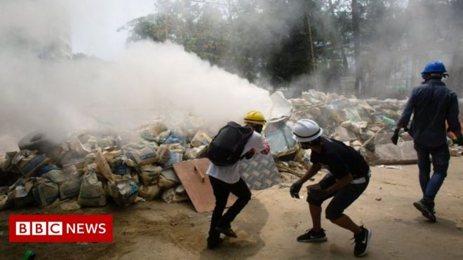 Myanmar coup: Military extends martial law after protests #world #BBC_News