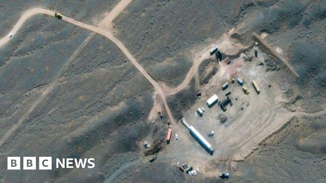 Iran nuclear: 'Incident' at underground Natanz facility #world #BBC_News