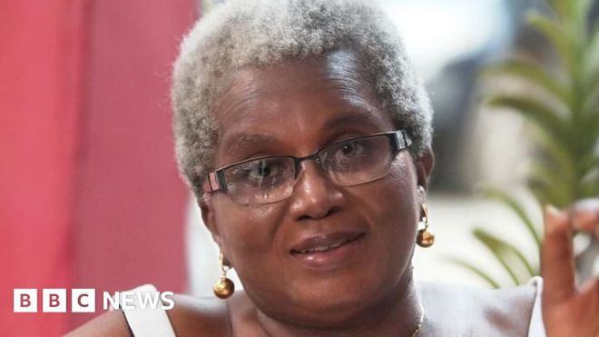 Letter from Africa: The woman bucking the trend in Ghana to embrace her grey hair #world #BBC_News