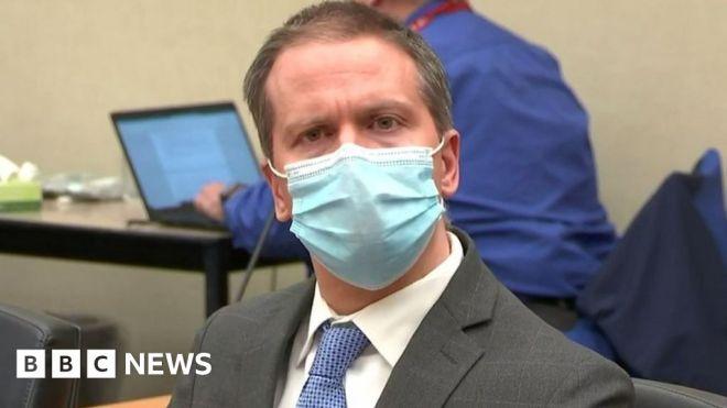 George Floyd killer Derek Chauvin asks for new trial #world #BBC_News
