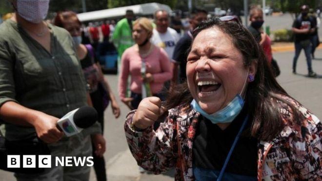 Mexico City metro: Shock, grief, anger in Mexico over metro crash #world #BBC_News