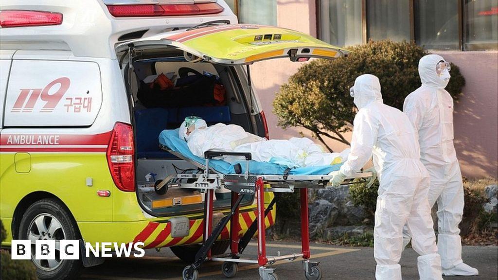 Coronavirus: South Korea confirms huge rise in cases - BBC News