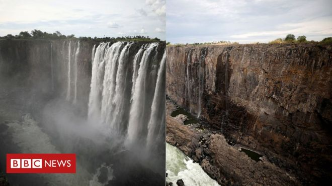 Then and now: When silence descended over Victoria Falls #world #BBC_News