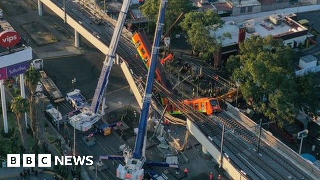 Mexico City metro: Fears structural failure behind deadly crash, Swahili Post