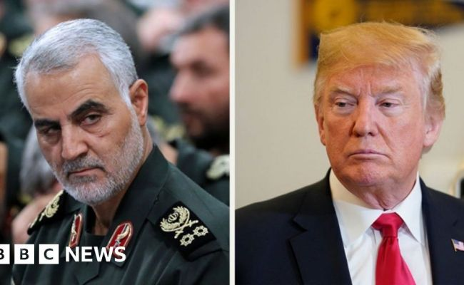 Iran General Warns Trump War Would Destroy All Your