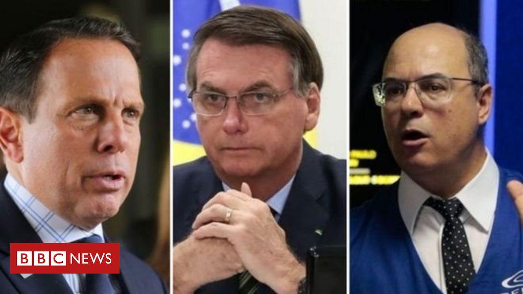Quem pode decidir sobre a quarentena dos brasileiros: Bolsonaro ou governadores?