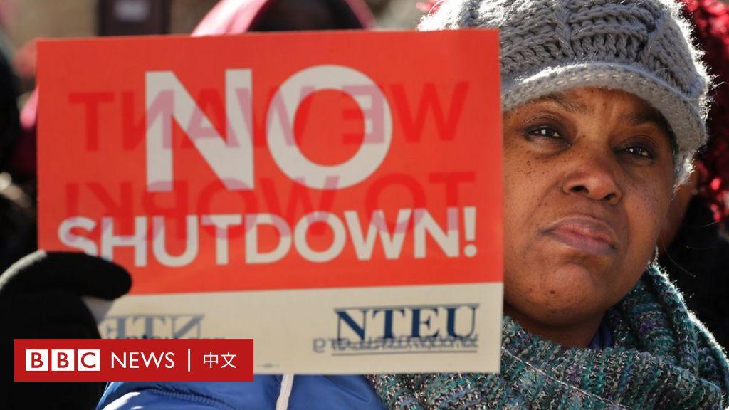 美國政府關閉:史上最長政府停擺和為生計所困的政府僱員 - BBC News 中文