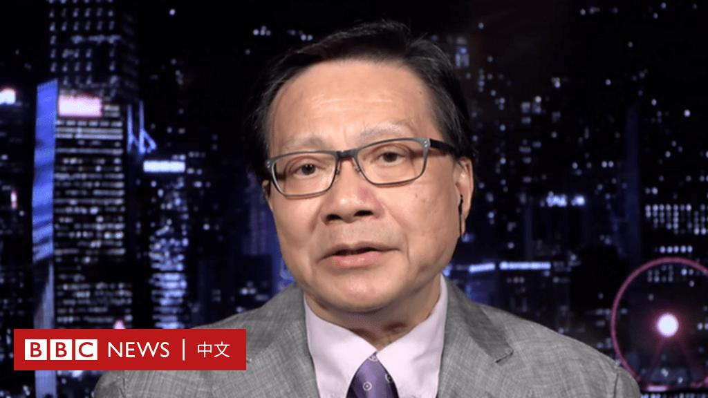BBC專訪香港前高官張炳良:香港面對1967年以來最嚴重管治危機 - BBC News 中文