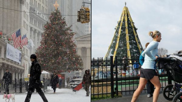 Why New York is a wet and warm wonderland this Christmas
