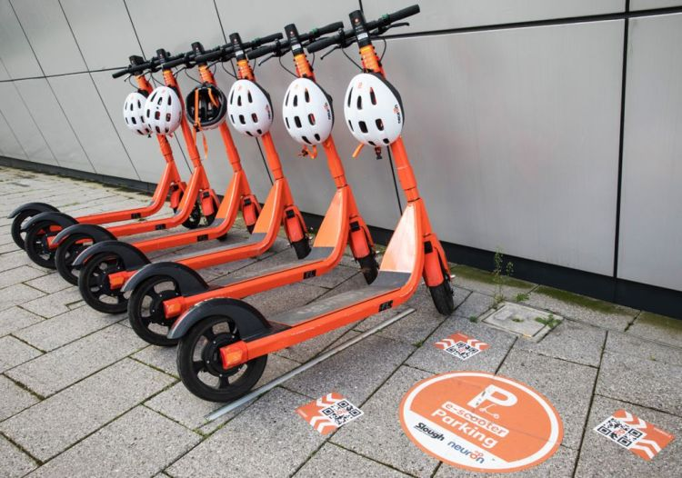 E-scooter rentals in Slough, Berkshire