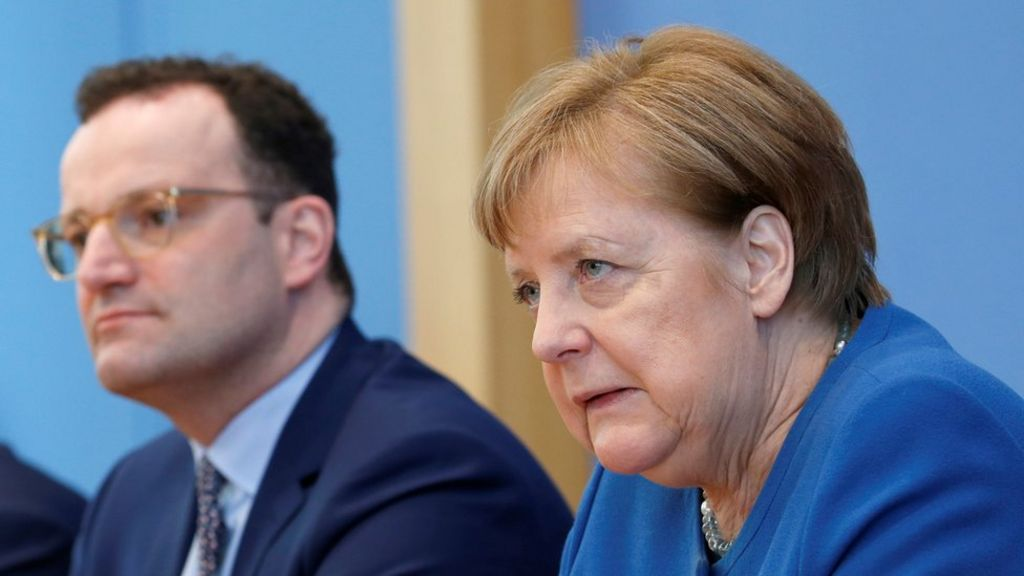 Coronavirus: Up to 70% of Germany could become infected - Merkel ...