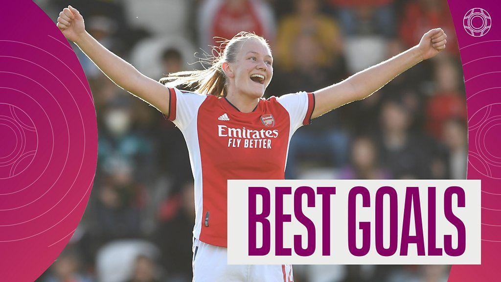 , Women's Super League: Frida Maanum's 25-yard stunner for Arsenal features in best goals, The Evepost BBC News