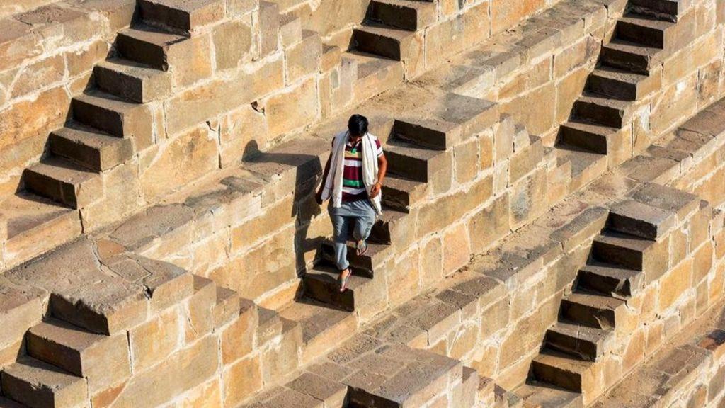 階梯水井:印度古代工程奇蹟 - BBC 主頁