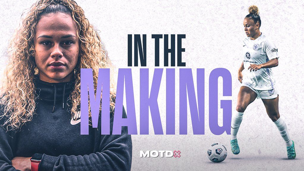 , MOTDx In The Making: How Ebony Salmon's release from Manchester United fired her to England debut, The Evepost BBC News