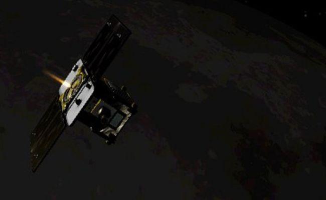 Nasa S Gravity Twins Now Circling Moon Bbc News