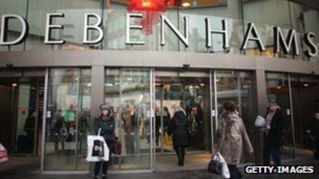 Debenhams sees record December sales - BBC News