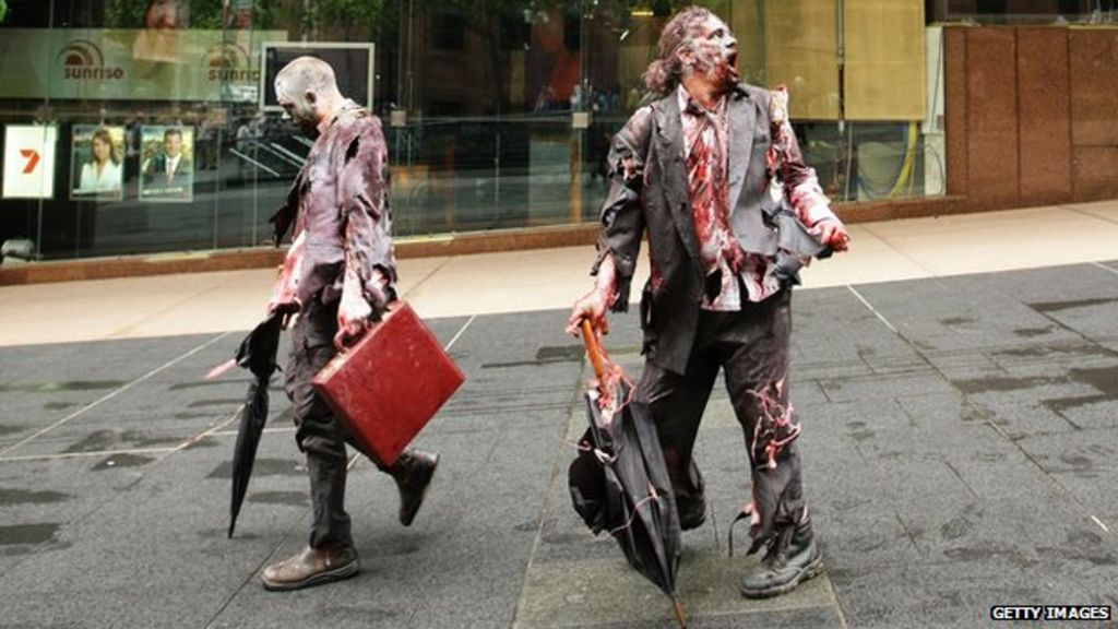 Zombie Companies Eating Away At Economic Growth Bbc News