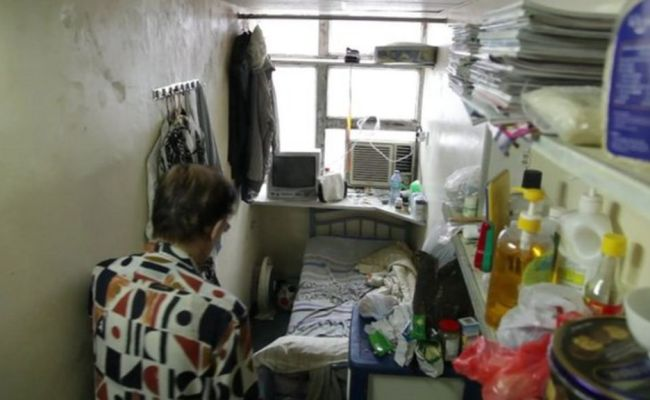 Thousands Living In Tiny Homes In Hong Kong Bbc News