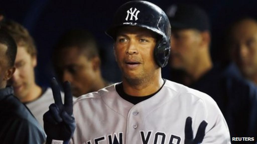 New York Yankees' Alex Rodriguez In Season Doping Ban BBC News