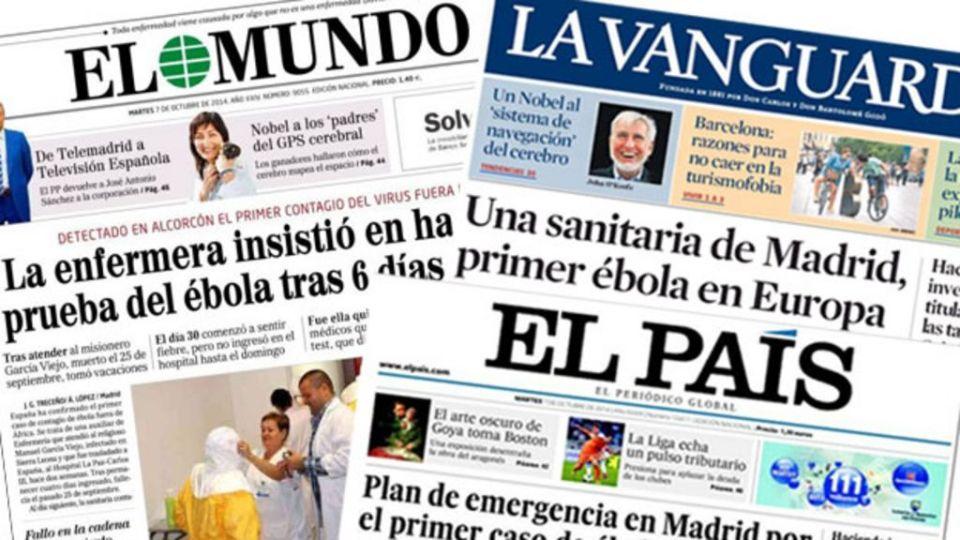 Image result for spanish newspaper