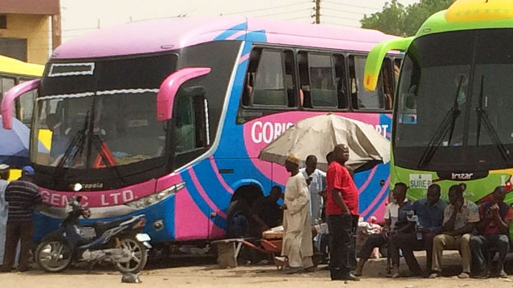 Image result for Fleeing igbos in the bus park