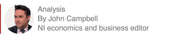 Analysis box by John Campbell, NI economic and business editor